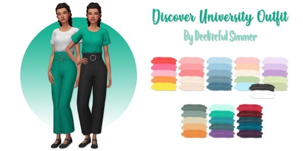 Deelitefulsimmer: Discover University Outfit