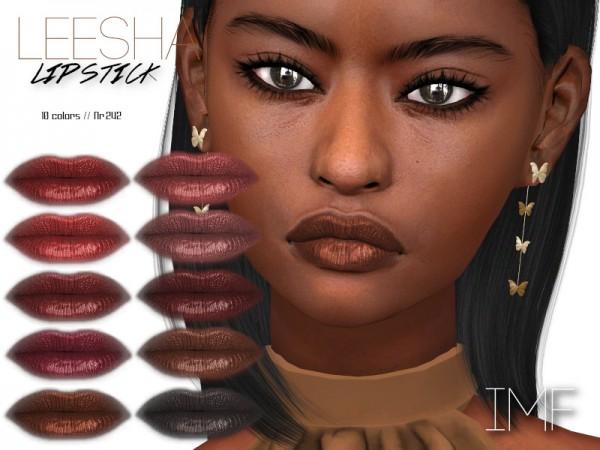 The Sims Resource: Leesha Lipstick N.242 by IzzieMcFire