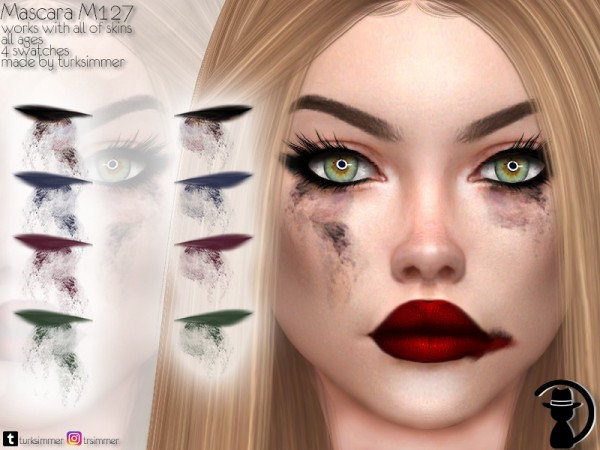 The Sims Resource: Mascara M127 by turksimmer