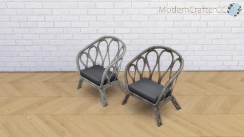 Modern Crafter: Weaving Chair V2 Recolour