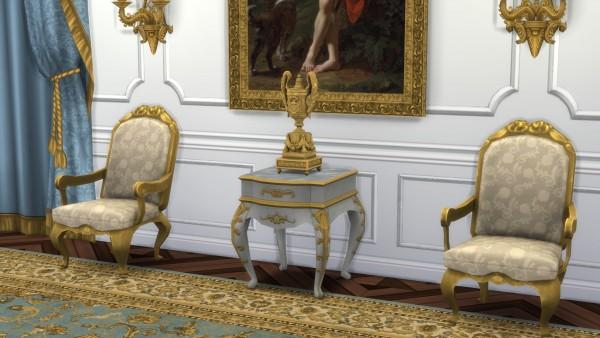 Mod The Sims: Louis XVI Style Pendule a Cercles Tournants by TheJim07