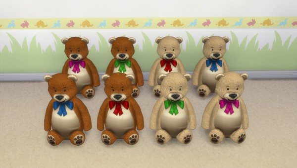 Mod The Sims: Teddy bear by hippy70