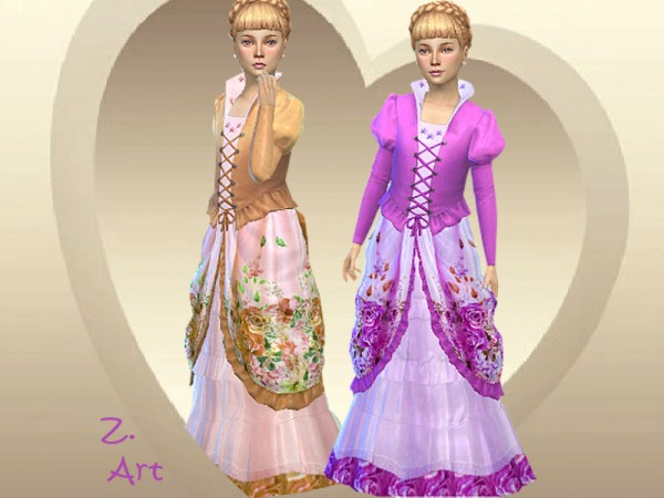 The Sims Resource: Costume Princess II by Zuckerschnute20
