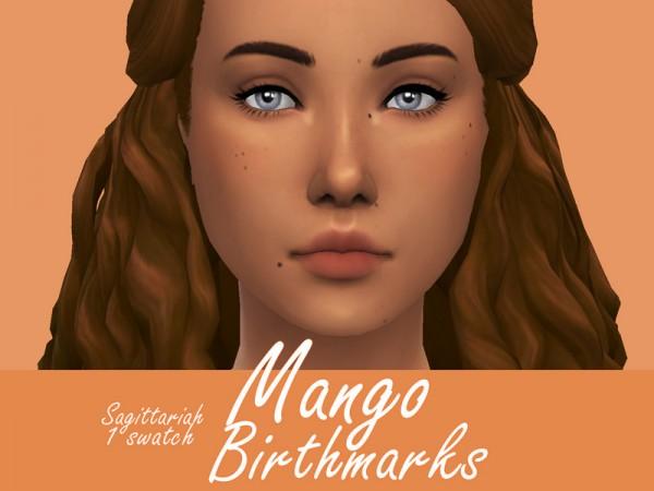 The Sims Resource: Mango Birthmarks by Sagittariah