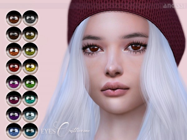 The Sims Resource: Eyes Catherine by ANGISSI