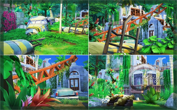 Cross Design: Jungle Ruins