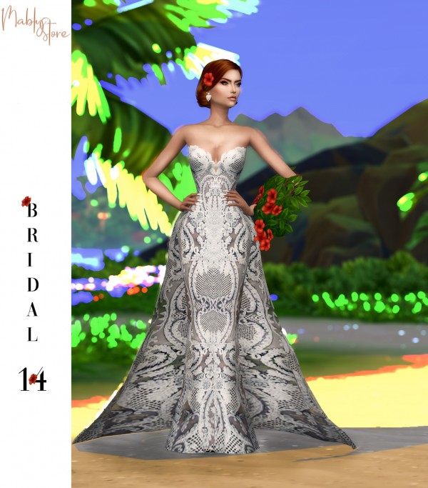 Mably Store: Bridal Dress 14