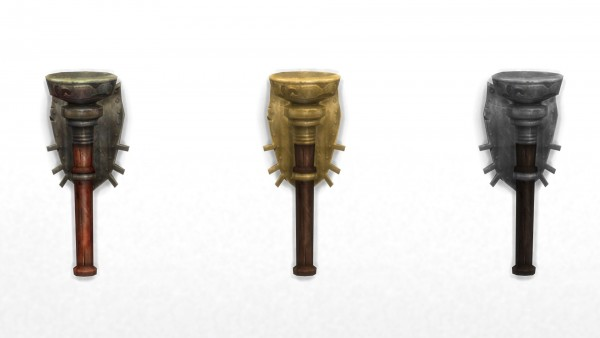 Mod The Sims: Wall Torch from TSM by TheJim07