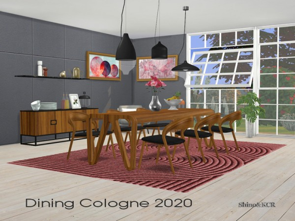 The Sims Resource: Dining Cologne 2020 by ShinoKCR