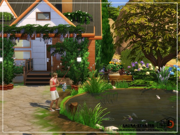 The Sims Resource: Laura Starter House by Danuta720