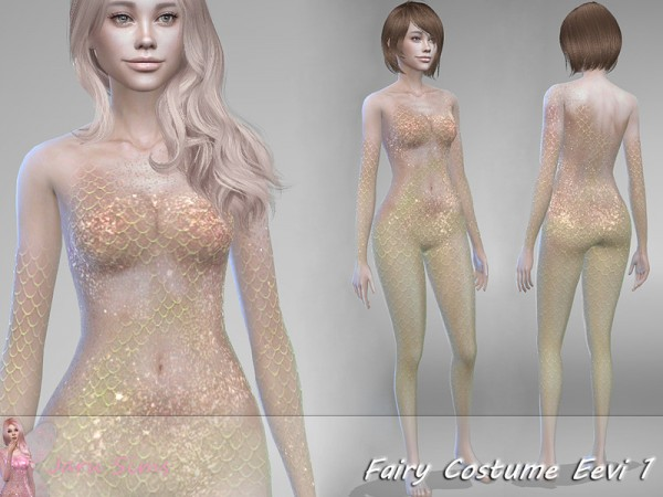The Sims Resource: Fairy Costume Eevi 1 by Jaru Sims