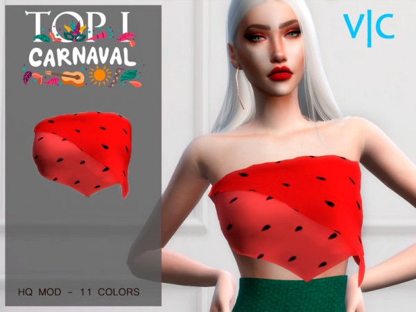 The Sims Resource: Top Carnaval by Viy Sims