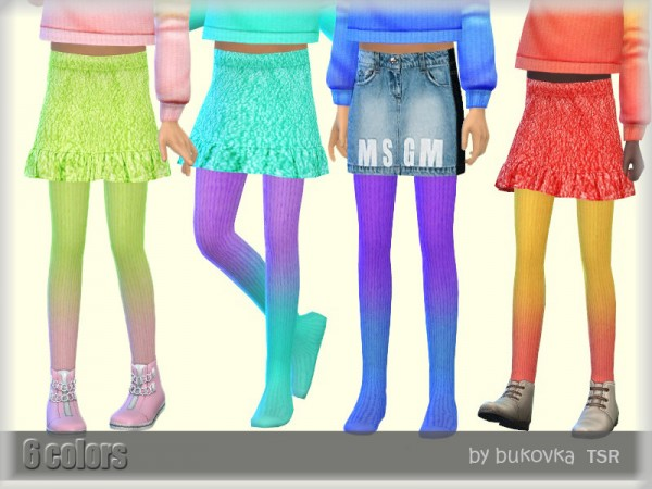 The Sims Resource: Tights Gradient by bukovka