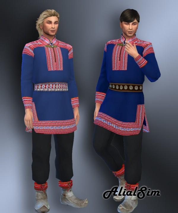 Alial Sim: Sami outfit