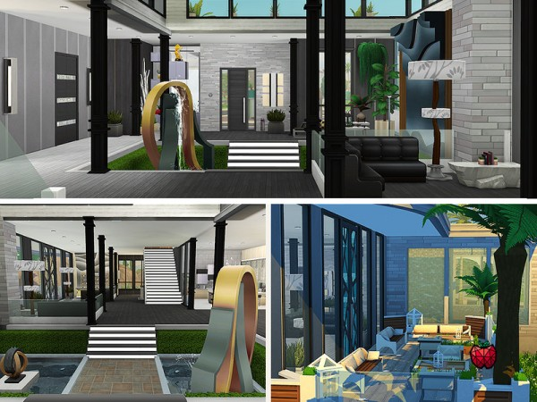 The Sims Resource: Bertha House   no cc by melapples