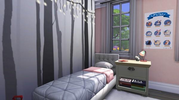 Aveline Sims: A Very Basic Suburban House