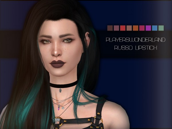 Players Wonderland: Russo Lipstick