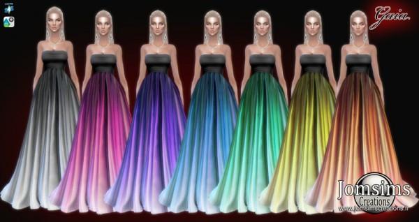 Jom Sims Creations: Gaia Dress