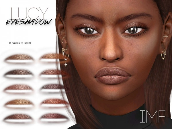 The Sims Resource: Lucy Eyeshadow N.128 by IzzieMcFire