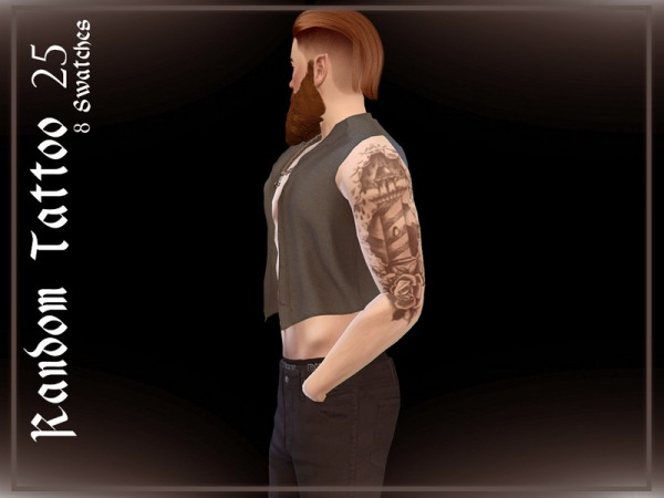The Sims Resource: Random Tattoo 25 by Reevaly