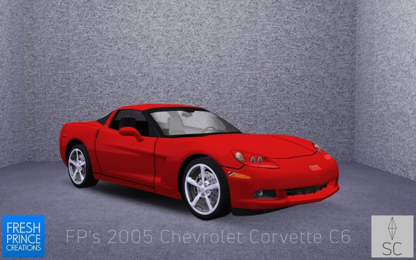 Mod The Sims: FPs 2005 Chevrolet Corvette C6 by SimsCraft
