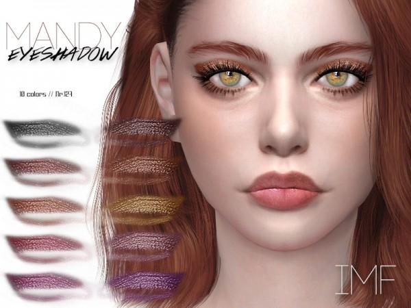 The Sims Resource: Mandy Eyeshadow N.127 by IzzieMcFire