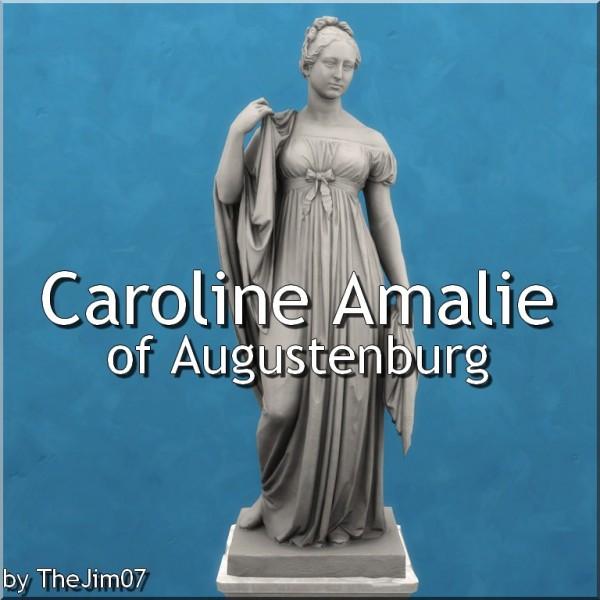 Mod The Sims: Caroline Amalie of Augustenburg by TheJim07