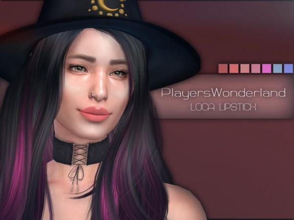 Players Wonderland: Loca Lipstick