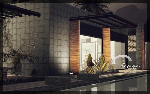 Cross Design: Concrete Oasis