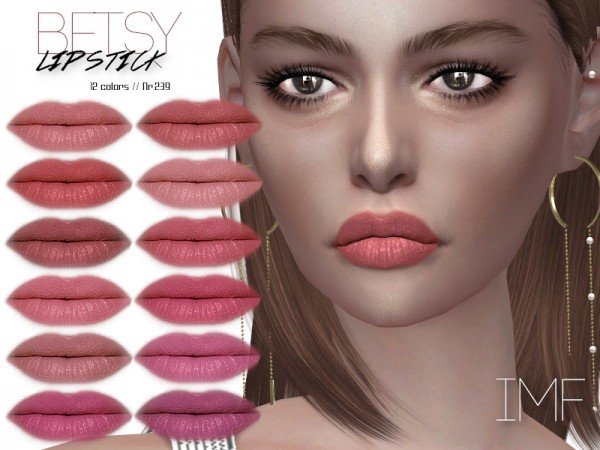 The Sims Resource: Betsy Lipstick N.239 by IzzieMcFire