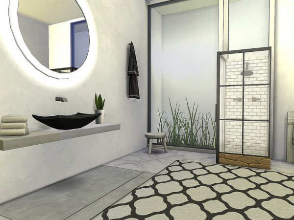 The Sims Resource: Ultra Modern Mansion   No CC by Sarina Sims