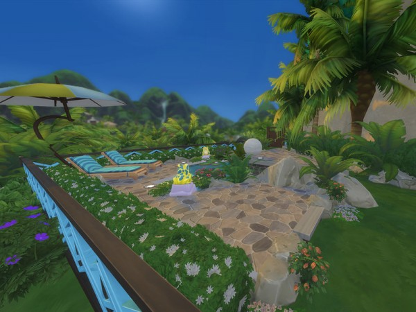 The Sims Resource: Mountain Top Paradise (No CC) by JadeMist13
