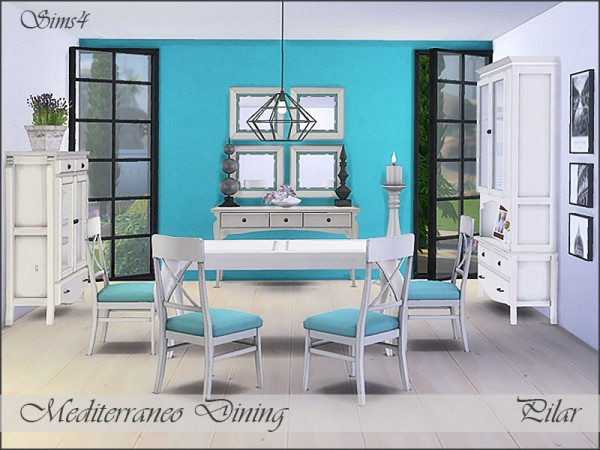 The Sims Resource: Mediterraneo Dining by Pilar