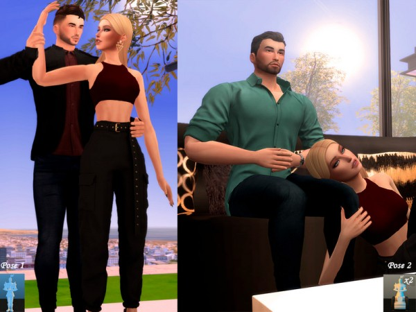 The Sims Resource: Passion   Pose Pack by Beto ae0