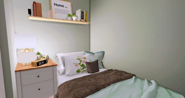 The Sims Resource: Student Room