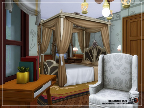The Sims Resource: Romantic Cafe by Danuta720