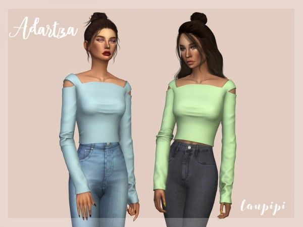 The Sims Resource: Adartza Top by laupipi