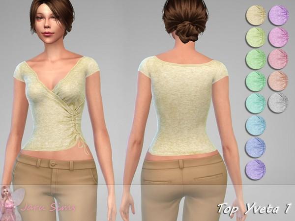 The Sims Resource: Top Yveta 1 by Jaru Sims