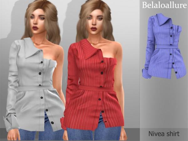 The Sims Resource: Belaloallure Nevea top by belal1997