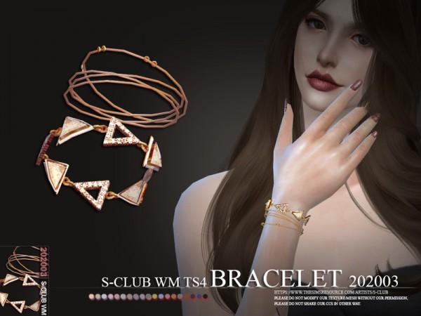 The Sims Resource: Bracelet WM 202003 by S Club