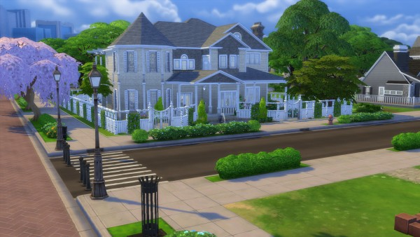 Mod The Sims: Cape Cod Mansion no cc by stevo445