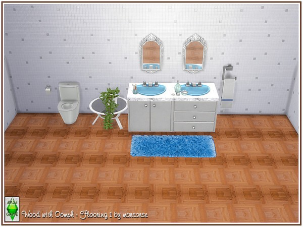 The Sims Resource: Wood with Oomph   Flooring by marcorse