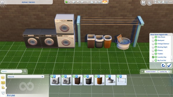 Mod The Sims: Laundry Day Appliances as Decor! by LostNlonelyGrl86
