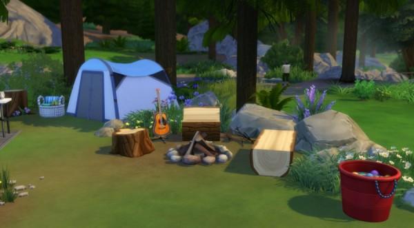 Sims Artists: La caravane de Granite Falls