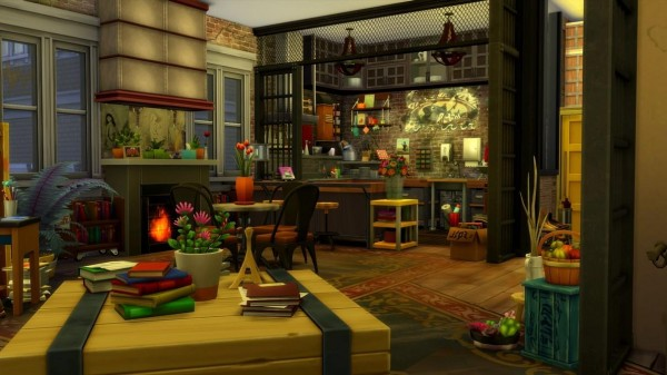 Luniversims: 17 rue Dupiment Apartament by  chipie cyrano