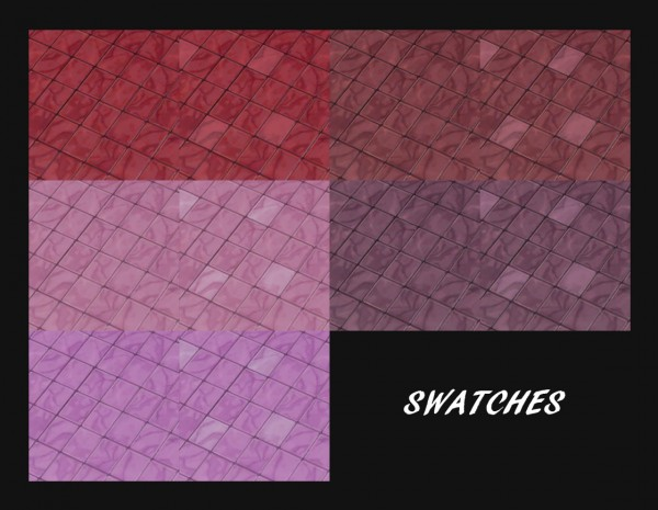 Mod The Sims: In Your Veins Marble Tile Recolours by Simmiller