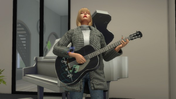 Mod The Sims: Taylor Swift guitar by simslyswift