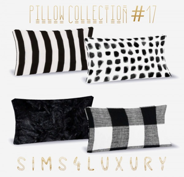 Sims4Luxury: Pillows and Baskets