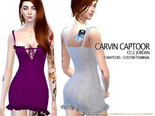 The Sims Resource: Jordan Dress by carvin captoor