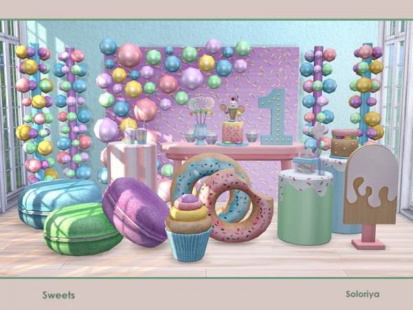 The Sims Resource: Sweets by soloriya